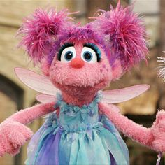 Which Sesame Street Character Are You? I got Abby Cadabby Okay I picked purple and popcorn instead of an apple and green! Jeeze.