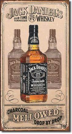 Jack Daniel's Charcoal Tin Sign, $8.95