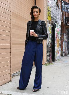 Street Style: New York Fashion Week Spring 2014 Part Two - LOVE this look minus the shoes :)
