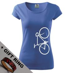 Women's Bicycle shirtgift in many colours by DrasiShop on Etsy