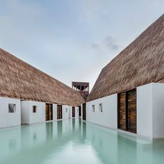 Guadalajara-based architecture firm Estudio Macías Peredo has created an intimate sanctuary on the remote island of Holbox, Mexico, based on the region's ancient buildings.