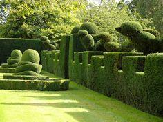 Garden Thinnings: September 2011 - Levens Hall | Chris Crowder