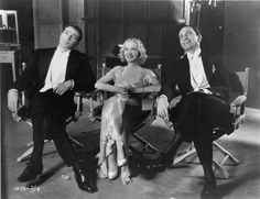 Miriam Hopkins, Gary Cooper, and Fredric March, Design for Living