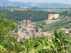 "Medieval castles in Valmarecchia - ""Eat, Party, Live: my roadtrip through Emilia-Romagna"" by @lilmsitchyfeet"