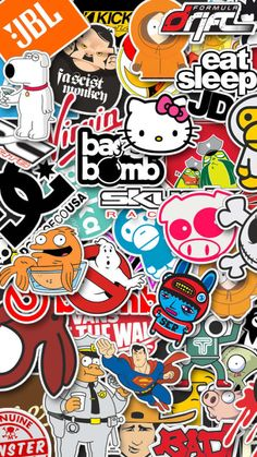 Pin Jdm Sticker Bomb Wallpaper On
