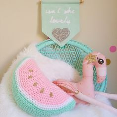 Last day to get your orders in @littlefoxcrochet before they close for a well deserved holiday, reopening mid to late April. And any excuse to take a pic of their watermelon cushion  #littlefoxcrochet #butterflybelle #minyandmo #crochet #watermelon #kidsdecor #handmadeinaustralia #handmade #girlsroom #girlsdecor #kidsinteriors