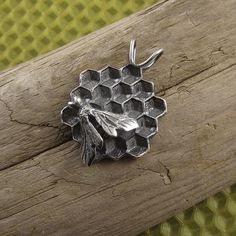 The Bee's Knees Sterling Silver Pendant