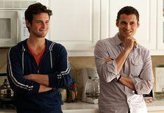 Jacob Wells (Nico Tortorella) and Paul Torres (Adan Canto), The Following (2013 -).