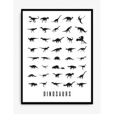 Visit Designstuff to purchase the latest range of unique kid's wall art by Swedish artists of KREATIVUM. This dinosaur poster is ideal as a nursery gift or birthday present.