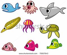 cartoon fish icon by notkoo, via Shutterstock