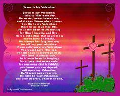 short simple valentine's day poems | Jesus Is My Valentine Poster And Valentine Postersrs