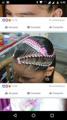 Girl Hairstyles, Braided Hairstyles, Hair Game, Braids For Long Hair, Diana, Your Hair, Hair Accessories, Long Hair Styles, Beauty