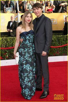 Zoe Kasan & Paul Dano - SAG Awards 2014 Red Carpet