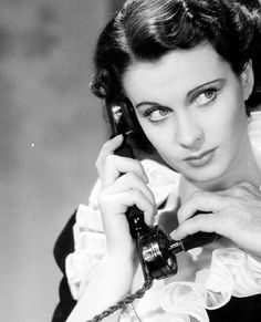 Vivien Leigh as Madeline Goddard in a production shoot for Dark Journey, 1937.