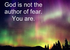 God is not the author of fear. You have chosen, therefore, to create unlike Him, and you have made fear for yourselves. You are not at peace because you are not fulfilling your function. A Course In Miracles (Original Edition) Spiritual Messages, Spiritual Path, Spiritual Wisdom, Spiritual Growth, Miracle Quotes, Inspirational Qoutes, Peace Of God, Marianne Williamson, A Course In Miracles
