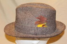 Check out this item in my Etsy shop https://www.etsy.com/listing/475050002/vintage-stetson-tweed-mens-dress-hat