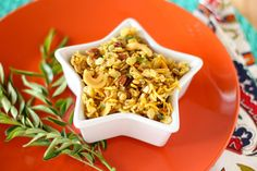 Spiced Crispies (Chivda, or Indian Snack Mix)
