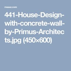 441-House-Design-with-concrete-wall-by-Primus-Architects.jpg (450×600)