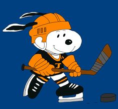 Hello,Welcome to my store :)  Snoopy playing hockey  ...LET ME KNOW WHAT TEAM YOU WOULD LIKE HIM PAINTED FOR    Every piece I make is made on