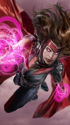 Scarlet Witch WIP by uncannyknack.deviantart.com on @DeviantArt