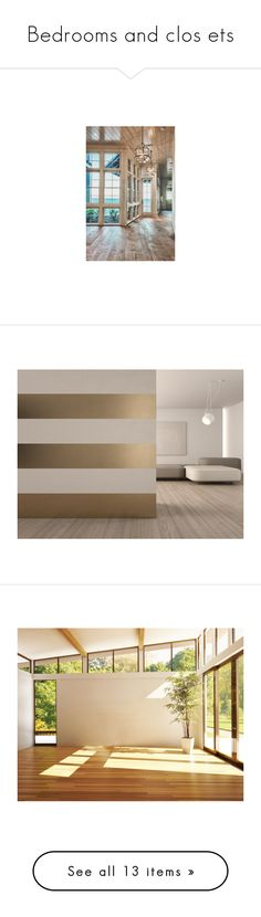 """""""Bedrooms and clos ets"""" by gigiglow ❤ liked on Polyvore featuring home, home decor, wall art, rooms, empty rooms, backgrounds, interior wall decor, gold metal wall art, home wall decor and gold wall art"""