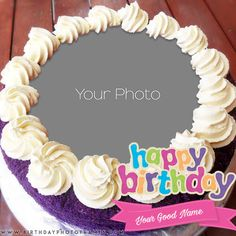 birthday cake with name and photo editor online. Free Edit happy birthday cake images with name and photo. happy birthday cake with name and photo edit online. make a birthday cake with photo frame. Happy Birthday Flower Cake, Birthday Cake Write Name, Happy Birthday Chocolate Cake, Birthday Cake Gift, Birthday Wishes With Name, Birthday Cake Writing, Strawberry Birthday Cake, Happy Birthday Cake Pictures, Happy Birthday Greetings Friends