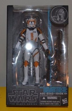 2015 Star Wars Black Series 6 inch Clone Commander Cody #14 In Hand