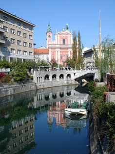 Ljubljana Slovenia...My daughter loved it there, I would like to go back with her someday