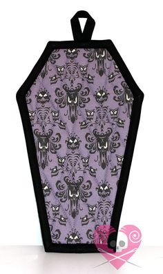 Haunted Mansion Coffin Pot Holder by XO Skeleton Creations