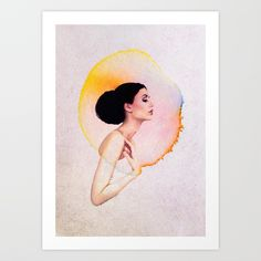Buy Bubble Of Happiness Art Print by andreaslie. Worldwide shipping available at Society6.com. Just one of millions of high quality products available.