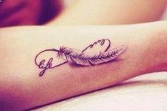 feminine angel wing tattoo designs | Small Angel Wings Tattoo | Home  Arm Tattoos  Live and love ...