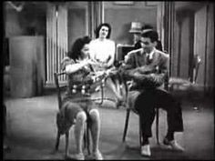 Danett and Dae-Tap Dance with Drumsticks- 1940