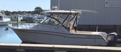This 2007 Grady White 305 Express is priced to sell FAST! She is powered by twin Yamaha F250 four-stroke outboard motors WITH LESS THAN 250 HOURS. Electronics include Raymarine GPS/Radar/Fishfinder, autopilot, VHF radio, and Stereo. Highlights are Grady White quality, Full Cockpit Enclosure, Anchor Windlass, Outriggers, deluxe helm chair with center seat, hard top rod holders, Hard Top with electronics box, hydraulic power assist, TV and much more.