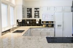 White Quartz Kitchen Countertops (600×398)