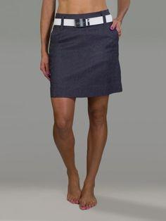 Sonoma Slate Slub JoFit Ladies & Plus Size Elite Slimmer Golf Skort.Find the best ladies outfits at #lorisgolfshoppe