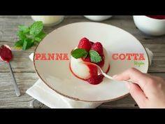 Panna cotta (vegan) dia dos namorados | Made by choices