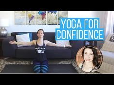 """Hey friends, I've got a special new yoga class for you featuring """"Bad Yogi"""" Erin Motz! Do you feel confident? Are you comfo..."""