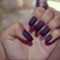 Minha unha linda e fosca #unhas