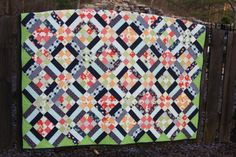 Quilt for my father in law. finished 12-24-2013
