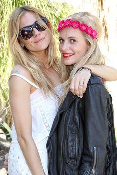 Poppy Delevingne and Sienna Miller | Celebrities At Coachella, Week One