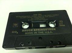 BRUCE SPRINGSTEEN tape cassette BORN IN THE USA 1984
