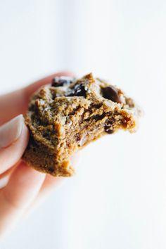5 Ingredient Peanut Butter Cookies - just peanut butter, eggs, coconut sugar, salt, and vanilla! gluten free and refined sugar free.   pinchofyum.com