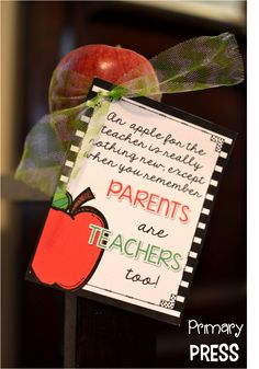 Welcoming Your New Parents {free gift tags}
