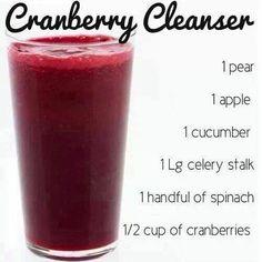 Cranberry Cleanser Smoothie - Detox