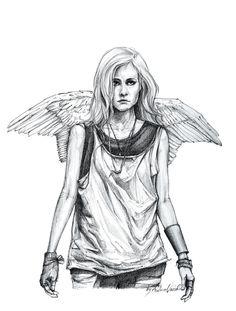 "Drawing inspired by Ed Sheeran's music video ""Give me love"". Ed Sheeran Music Video, Behance, Princess Zelda, Angel, Urban, Inspired, Drawings, Fictional Characters, Art"
