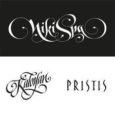 LOGOS / custom lettering by the Fontmaker by the Fontmaker , via Behance