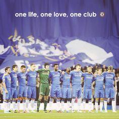 One life, one love, one club Chelsea FC