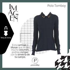 Si tu tipo de cuerpo es reloj de arena, debes procurar mantener el equilibrio, ya que tienes la figura más armónica de todas. No uses camisas o blusas que te den mucho volumen, podrías romper con la simetría de tu cuerpo. Evita también los pantalones que amplíen mucho tus caderas.- @oriettabock. Este sweater te quedará genial: http://www.personaling.es/producto/detalle/5876  #shirt #moda #personaling #ootd #tips #mujer