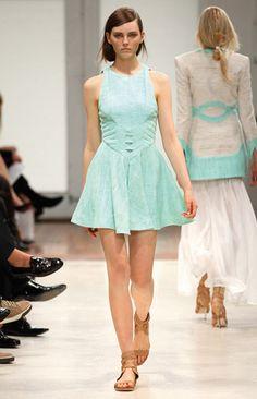 amazing light blue dress