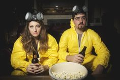 This Couple Had A Breaking Bad-Themed Engagement Photoshoot (via BuzzFeed)